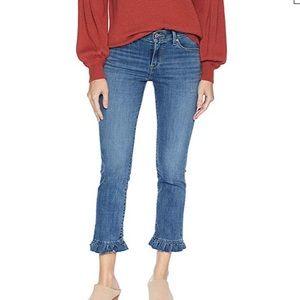 NEW Levi's Skinny Ruffle Jeans Sz 4